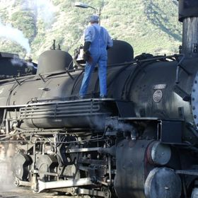 Visited Durango, CO and took a ride on this steam engine