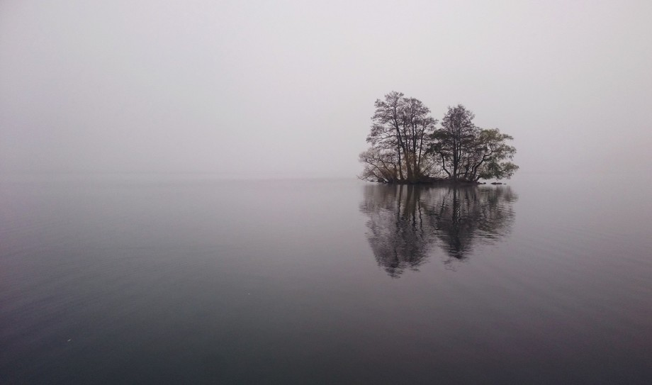 Taken in the city of Sigtuna (Sweden) on a foggy day.