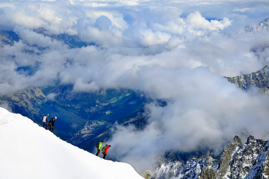 Cloudy Chamonix