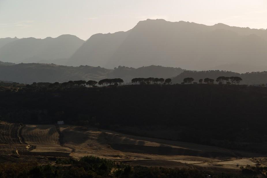 Serranía de Ronda, Andalucía, España