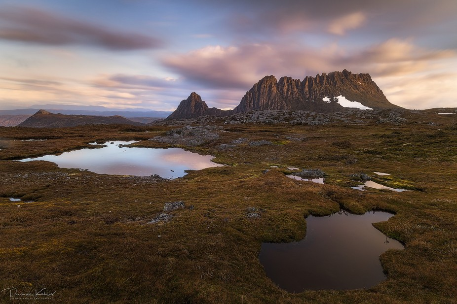 The plateau near Marion's Lookout in the Cradle Mountain World Heritage Area is amazingl...