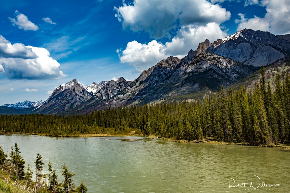 Picture taken in Alberta Canada in the Rocky Mountains