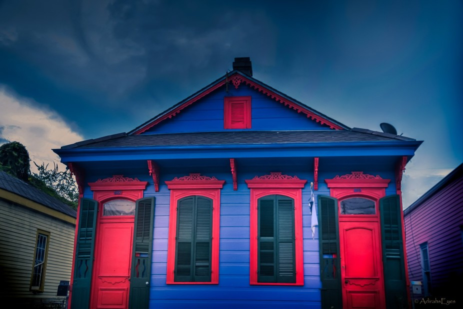 The title says it all about this cute little house in the Marigny neighborhood of New Orleans. Lo...