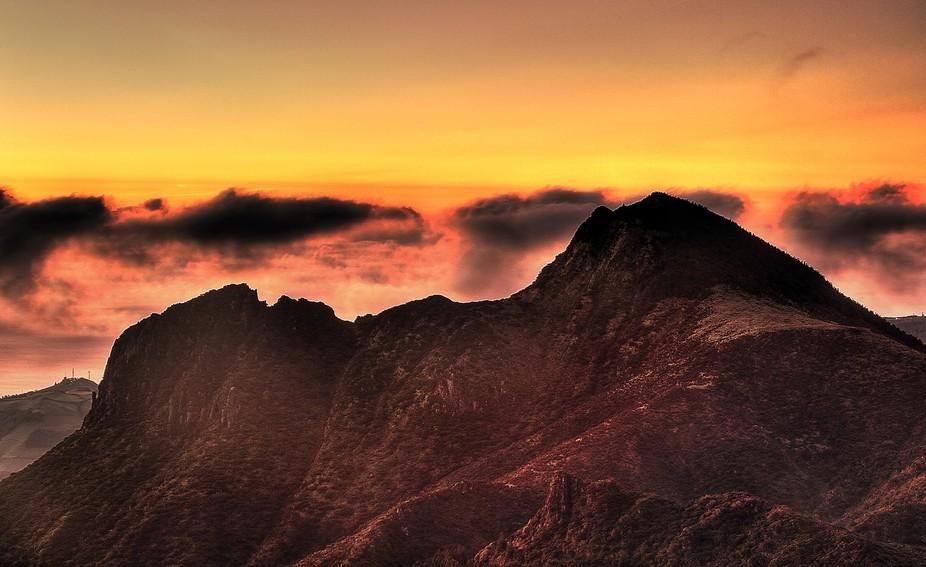 Sunrise Above Pico da Se