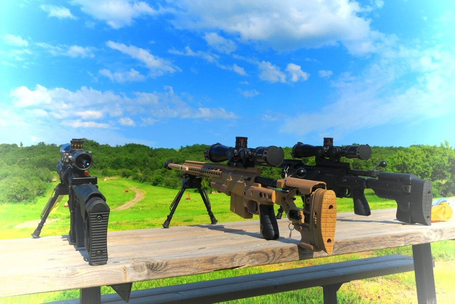 A local gun club held a customer appreciation day. It was beautiful outside and the range was vib...