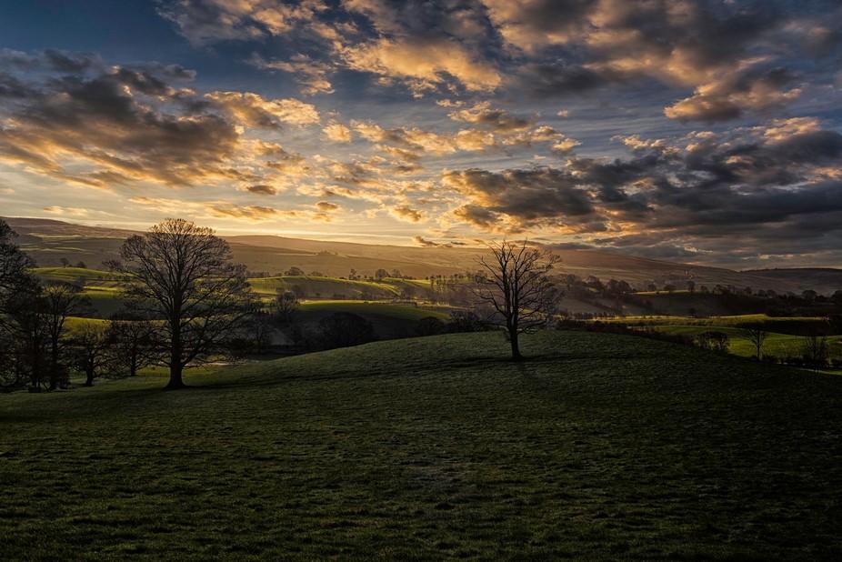 Yorkshire moors near Skipton