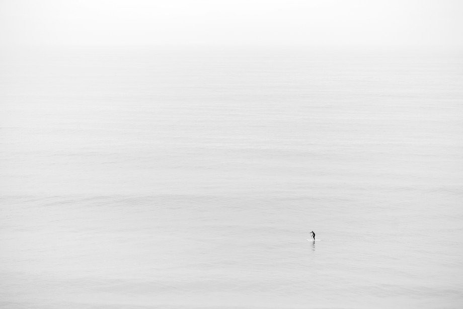 Taken in California, it was a nice hazy morning and perfect for some minimalist images. Luckily t...