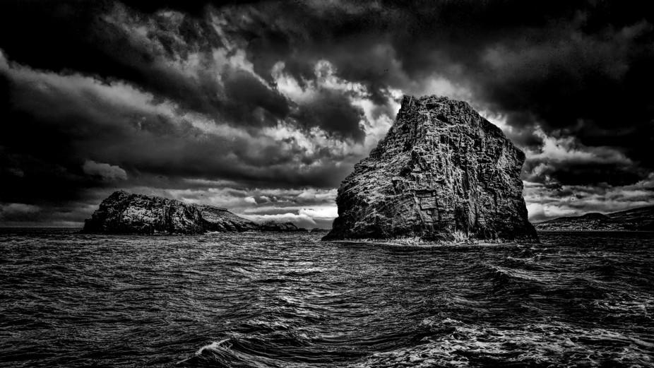 Azores sea - Pico islets
