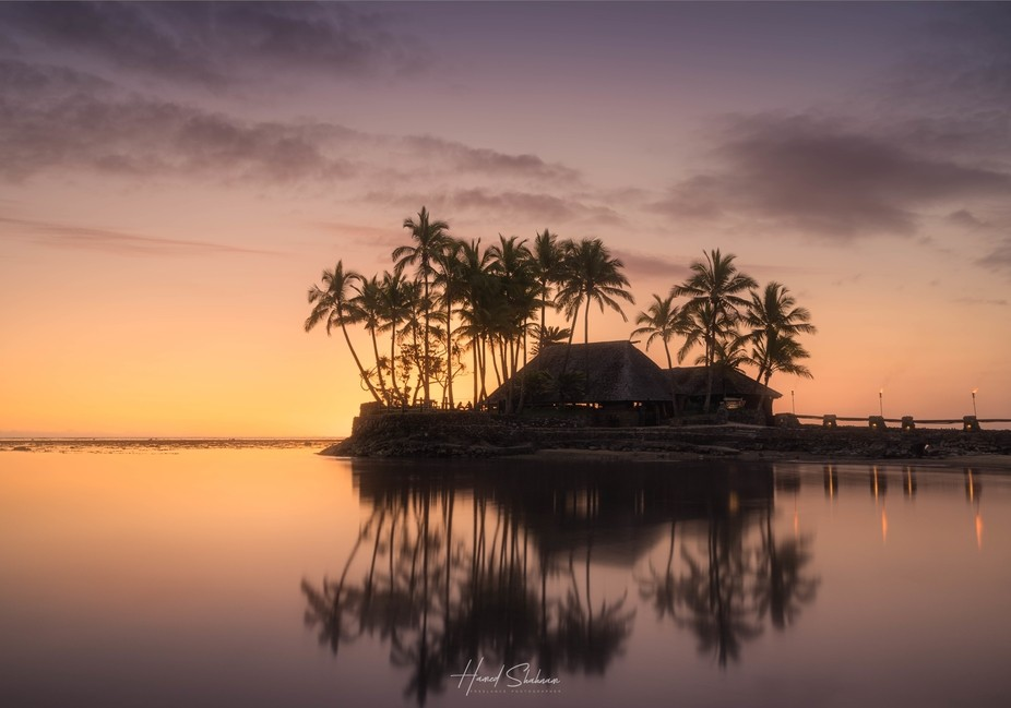 I took this photo during my honeymoon. I was fortunate to be able to take this shot as the weathe...