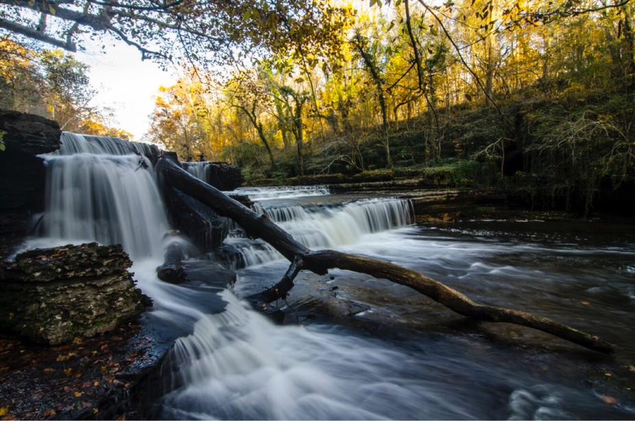 A short hike around Old Stome Fort brinfs you upon some amazing falls including this one. Located...