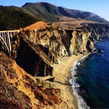 Bixby Bridge.  Big Sur, California
