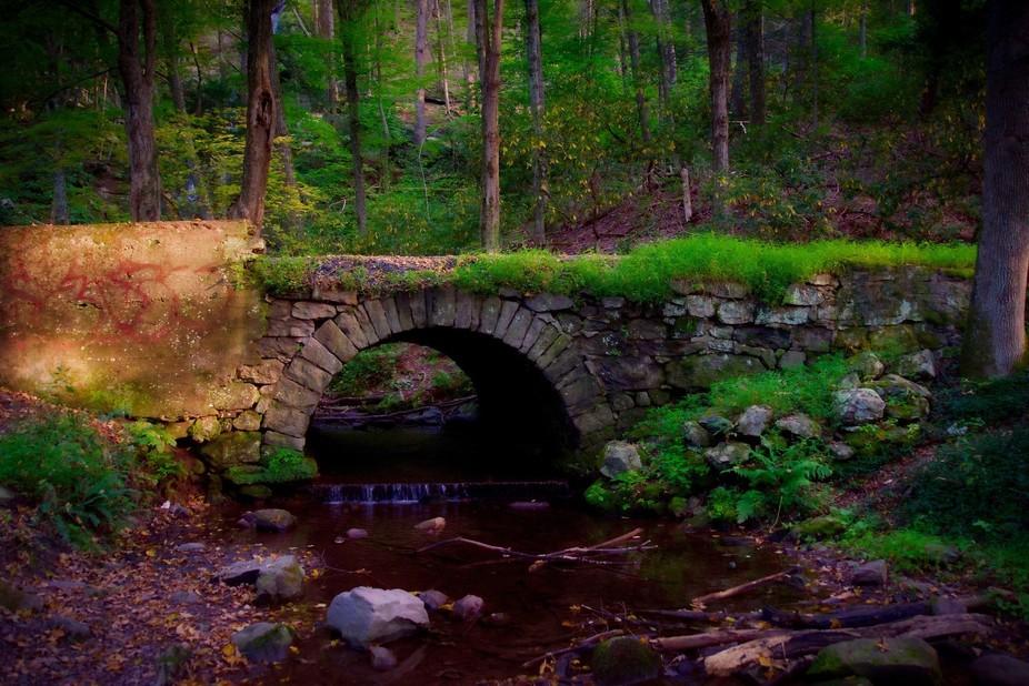 Fairytale Stone Bridge