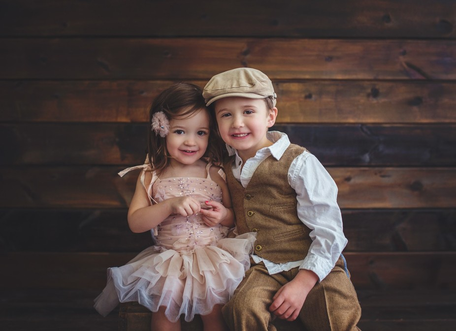 Ben & Grace (brother and sister)
