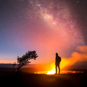 While at Volcano National park, I planned out a shoot to get both the Milky Way Core and the Glow from kilauea in the shot. I am very Happy with ...