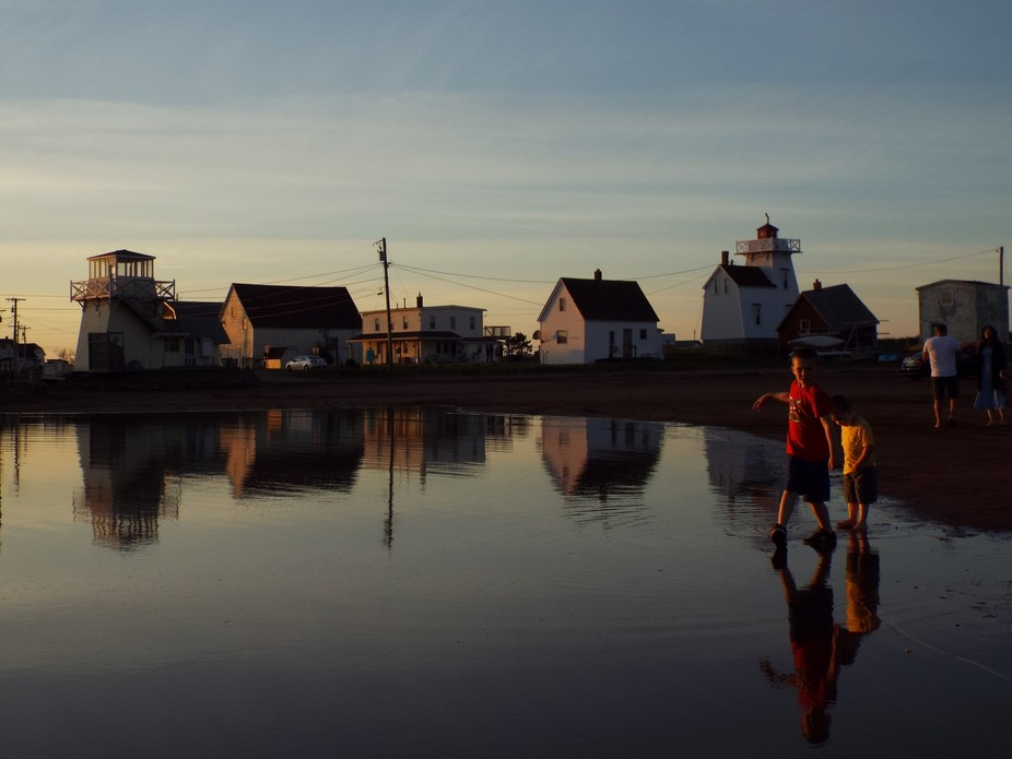 reflection in harbour brothers