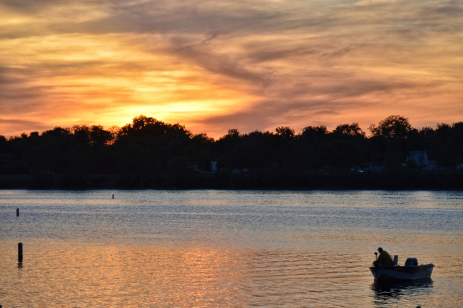 Eastwood Lake Sunset