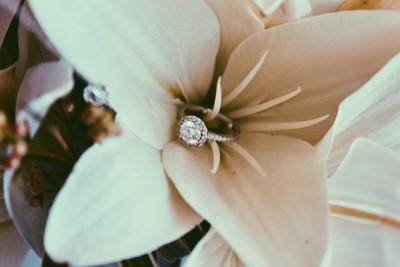 Diamond and Petals