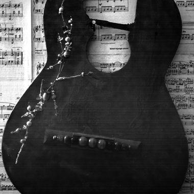 Smash Guitar Face on Sheet Music