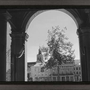 Even in Black and White photography my beautiful city of Tienen continues to charm Sincerely Theo Herbots