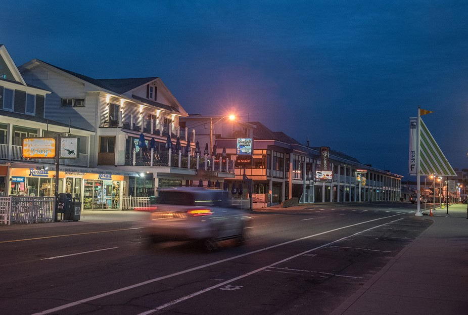 Hampton Strip At Dawn