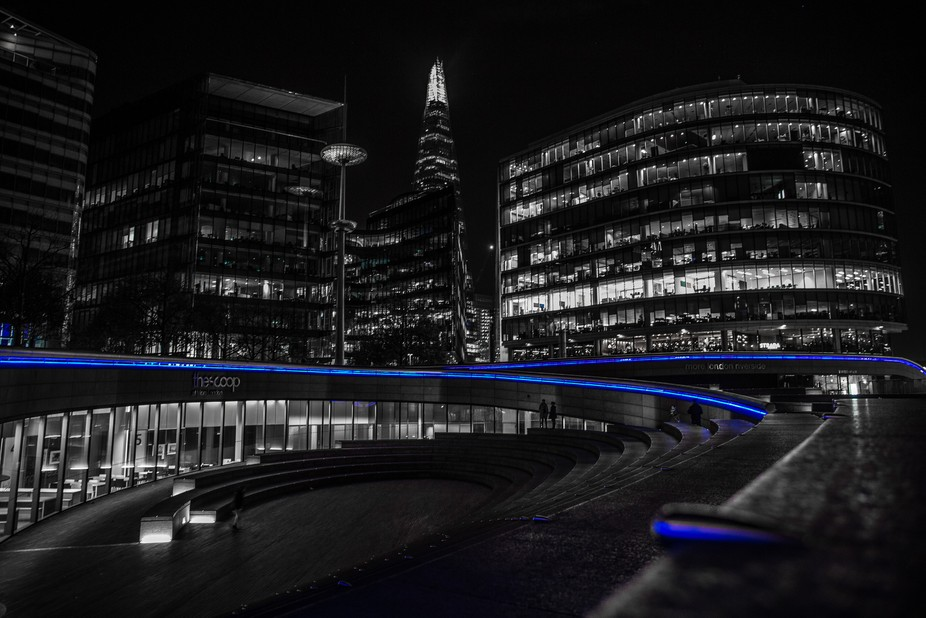 Shard building - tallest in London, in the background of this view