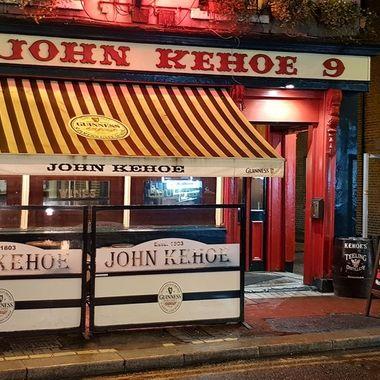 Tradition pub in Dublin city centre