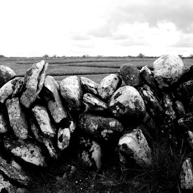 Traditional dry stone wall, The Burren, Ireland