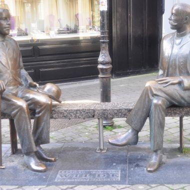 Oscar Wilde & Oscar Vilde, Galway, Ireland