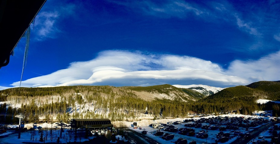 This is a shot from my hotel room in Winter Park Colorado