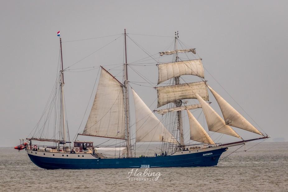 Antigua sailing charter for the coast of Texel Island in the Frisian Sea