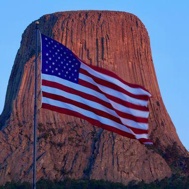 Devil's Tower Patriotism