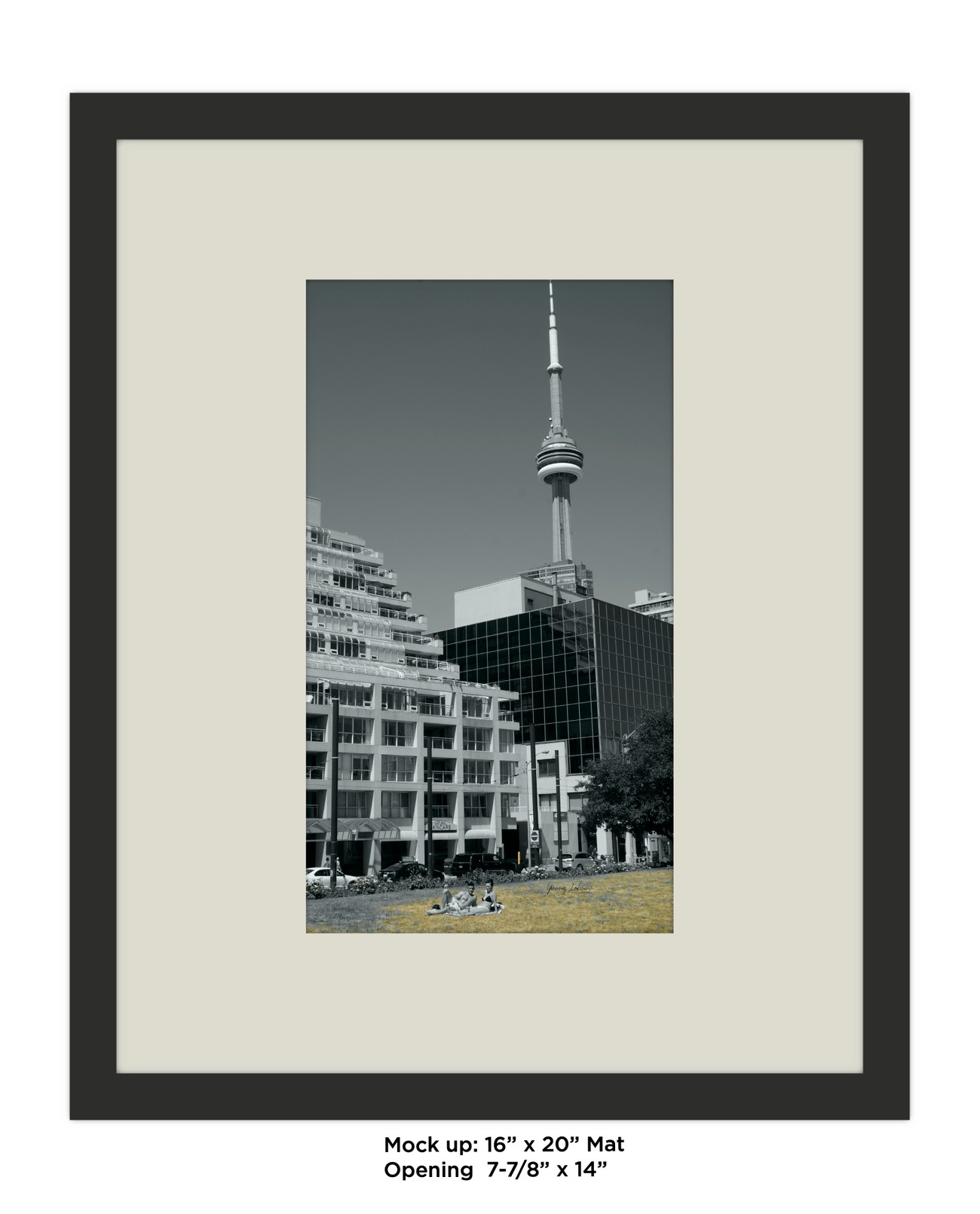 SUMMER IN TORONTO Mat_Mockup  ONGOING SerieS Alive_Upside down By Yannis Lobaina